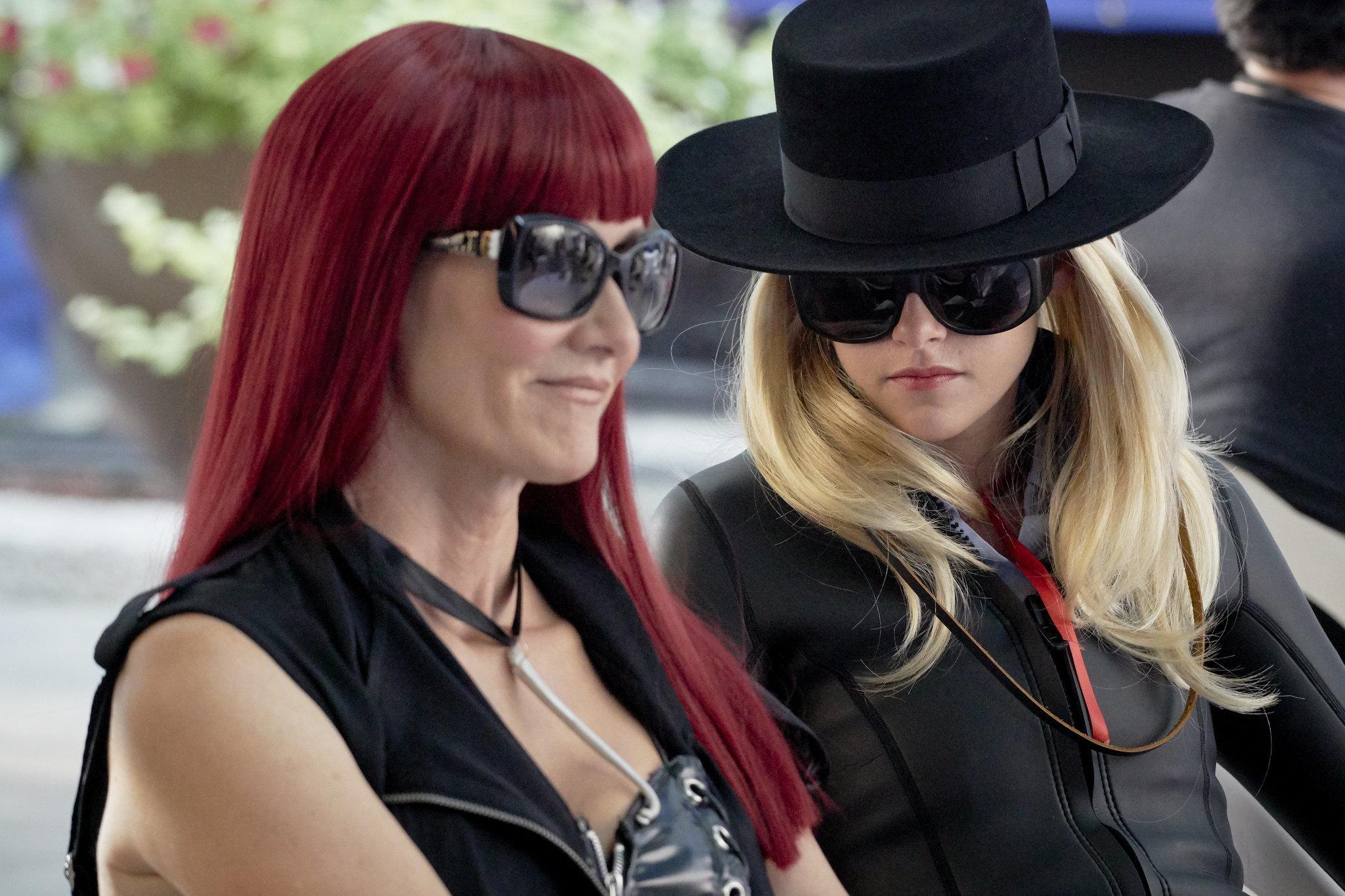 """Laura Dern, left, as Laura Albert and Kristen Stewart as Savannah Knoop in the film """"J.T. LeRoy."""""""