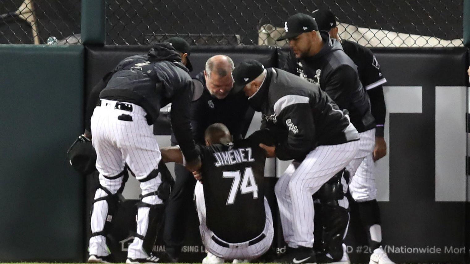 6a8414f54 ... 2019 White Sox place left-fielder Eloy Jimenez on 10-day injured list.  Chicago Tribune - 11 25 AM ET April 28