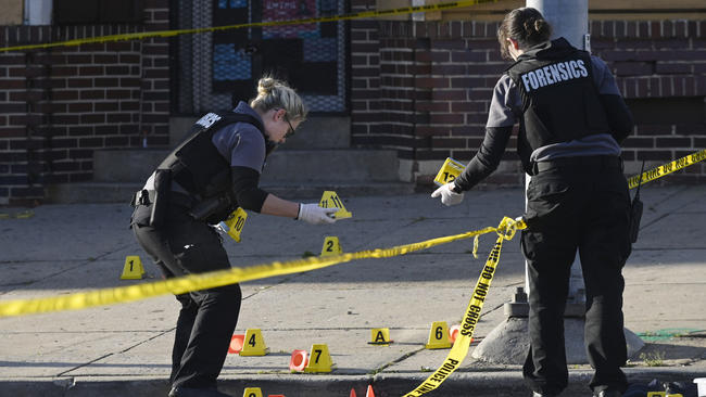 Gunman Opens Fire On West Baltimore Cookout Killing 1 Injuring 7