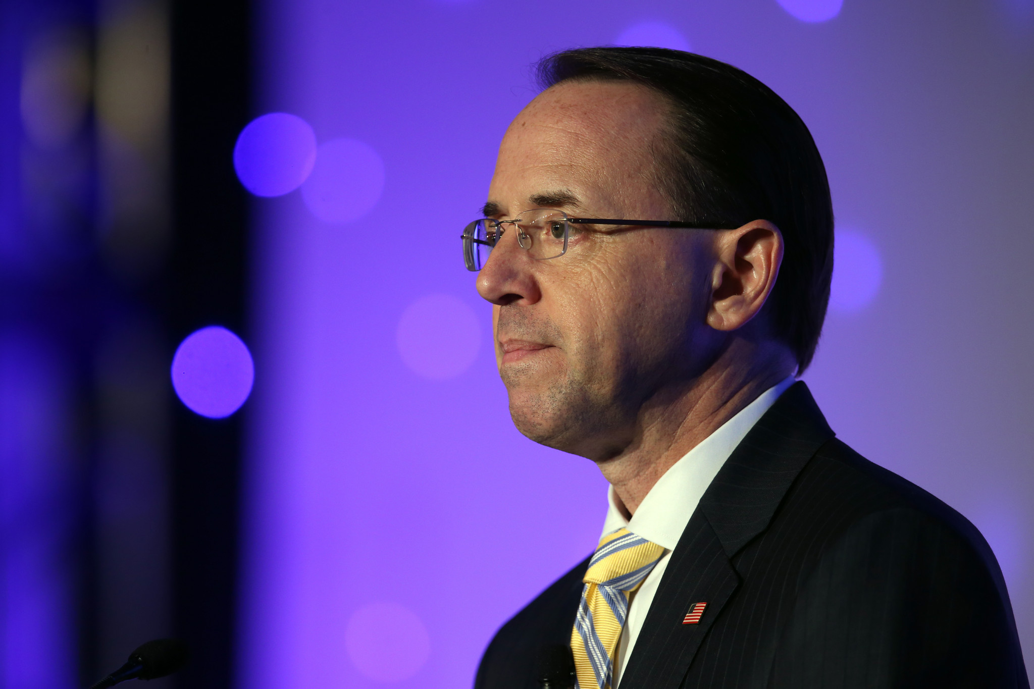 Rod Rosenstein submits letter of resignation to Trump   Chicago