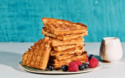 Ultimate Overnight Waffles