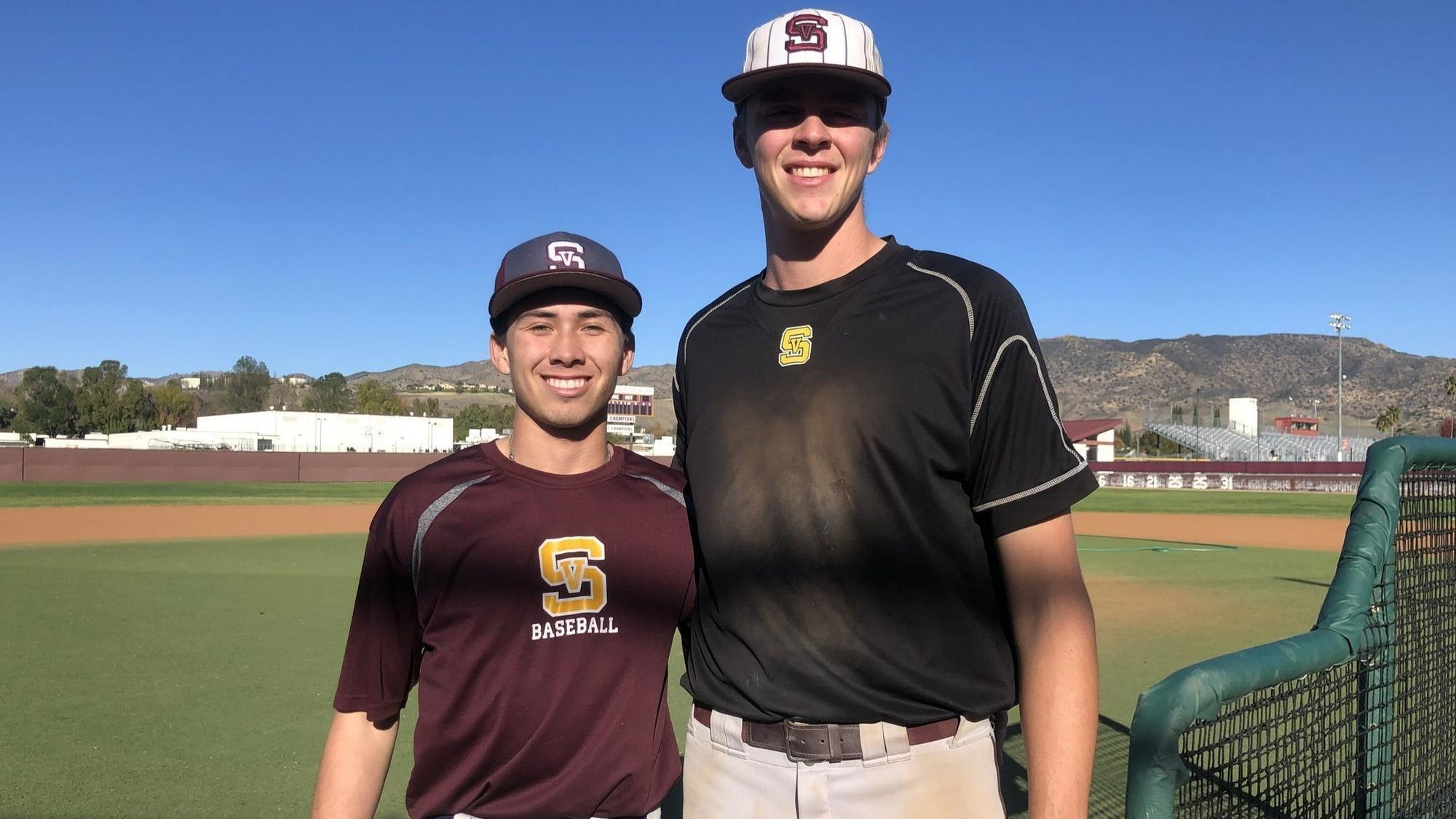 High school baseball: Justin Campbell hits, pitches Simi Valley to playoff victory