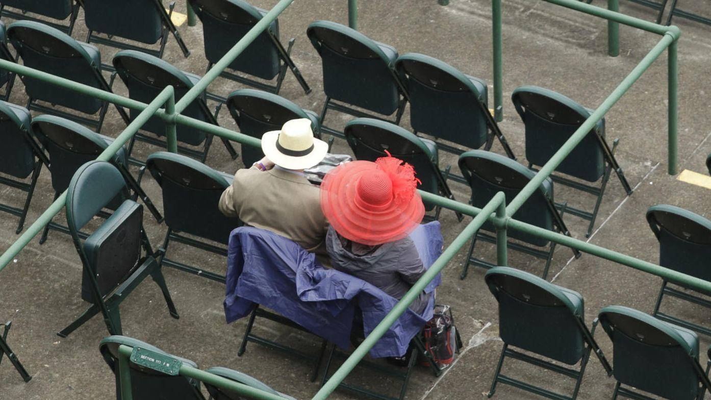 Kentucky Derby weather: Drizzle now, heavy rains coming