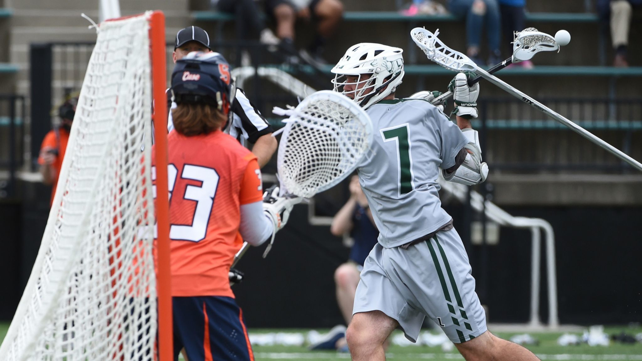 Spencer sets records, powers Loyola past Syracuse in NCAA men's lacrosse tournament