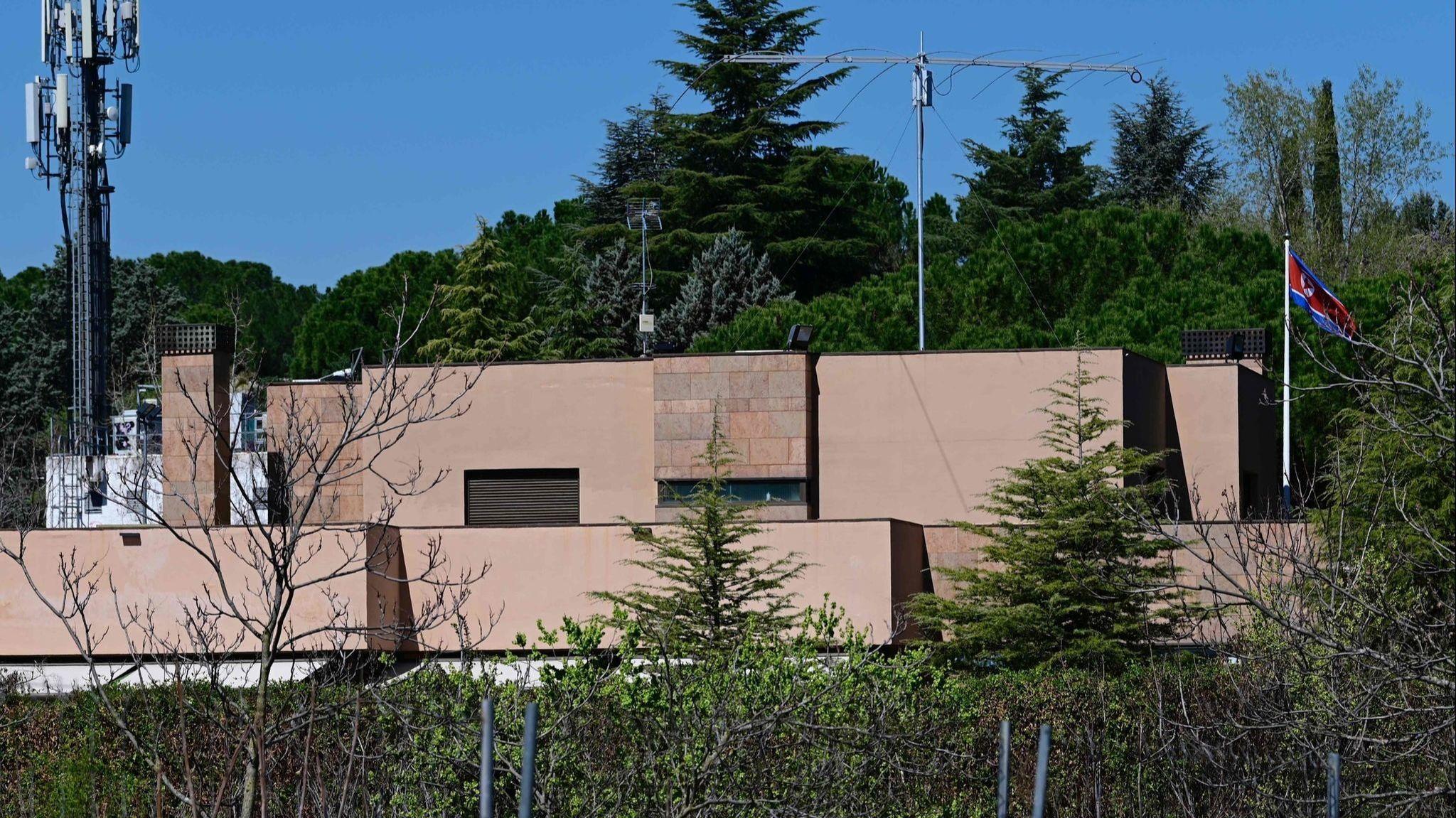 North Korean Embassy, Madrid
