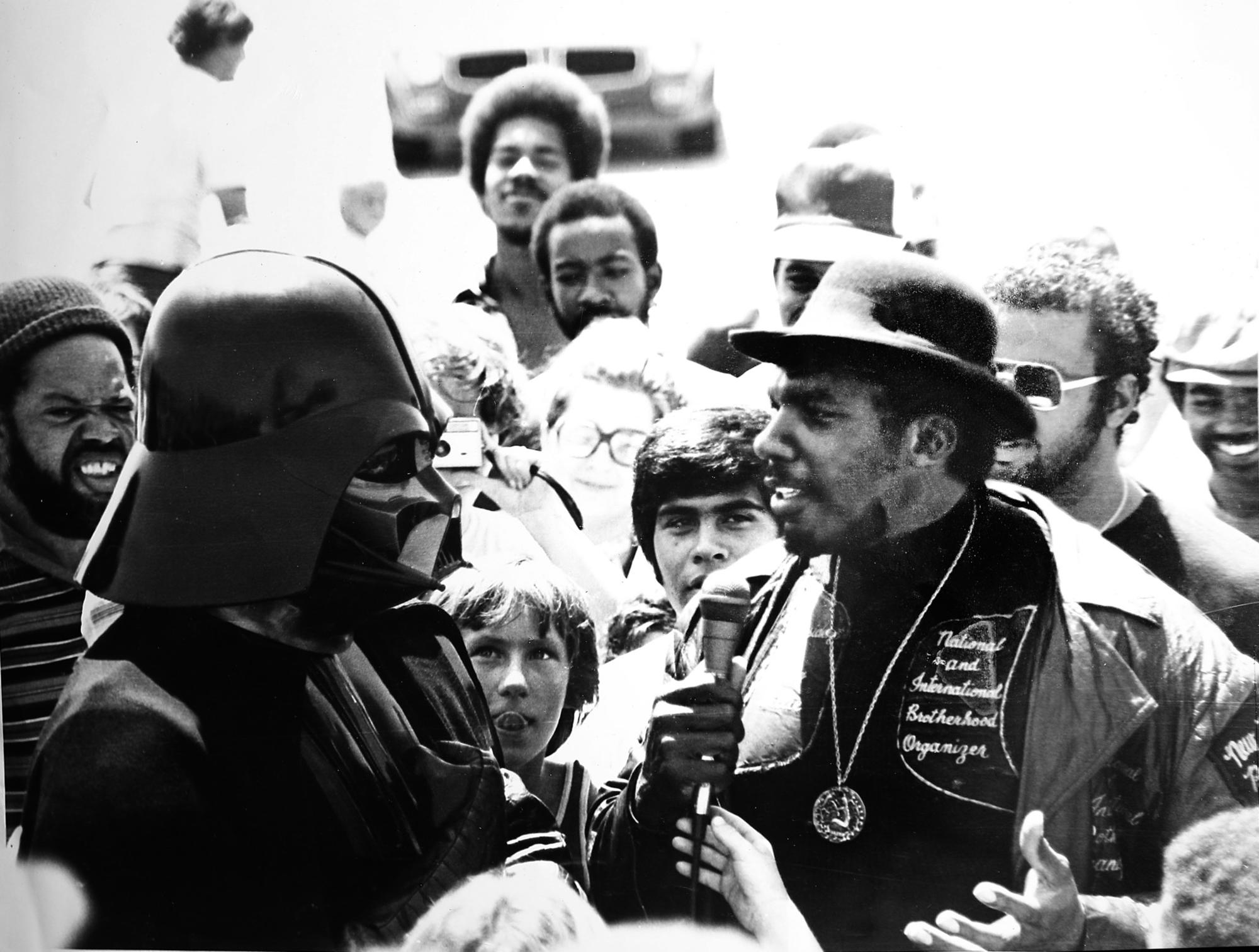 Darth Vader and Big Willie Robinson