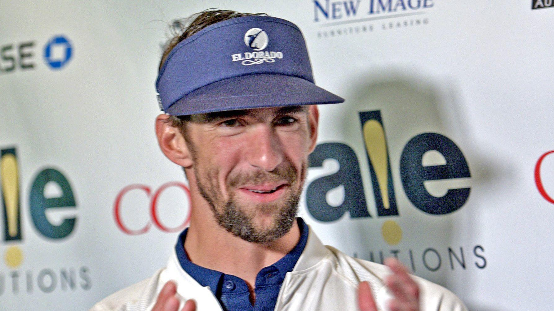 Q&A with Michael Phelps, in town for his charity event: On Tiger Woods, Brooks Koepka and golf's link to his wife getting pregnant