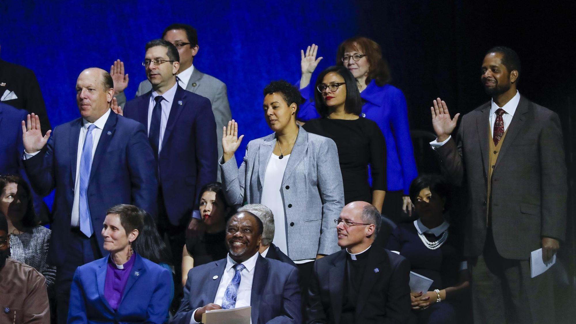 2a31c9b2db61 Chicago aldermen react to Mayor Lori Lightfoot s inaugural address ...