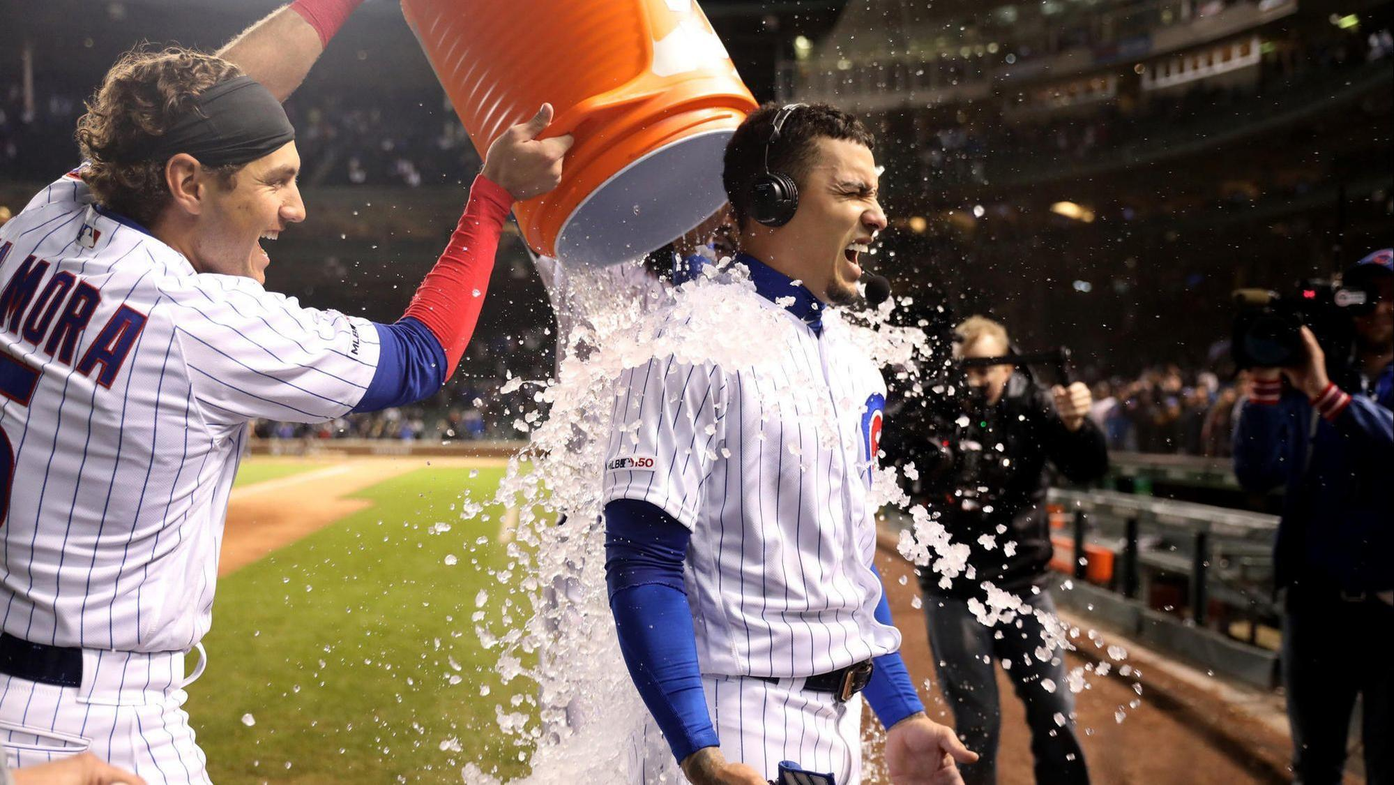 Cubs shortstop Javier Baez will miss his 2nd consecutive start tonight against the Phillies