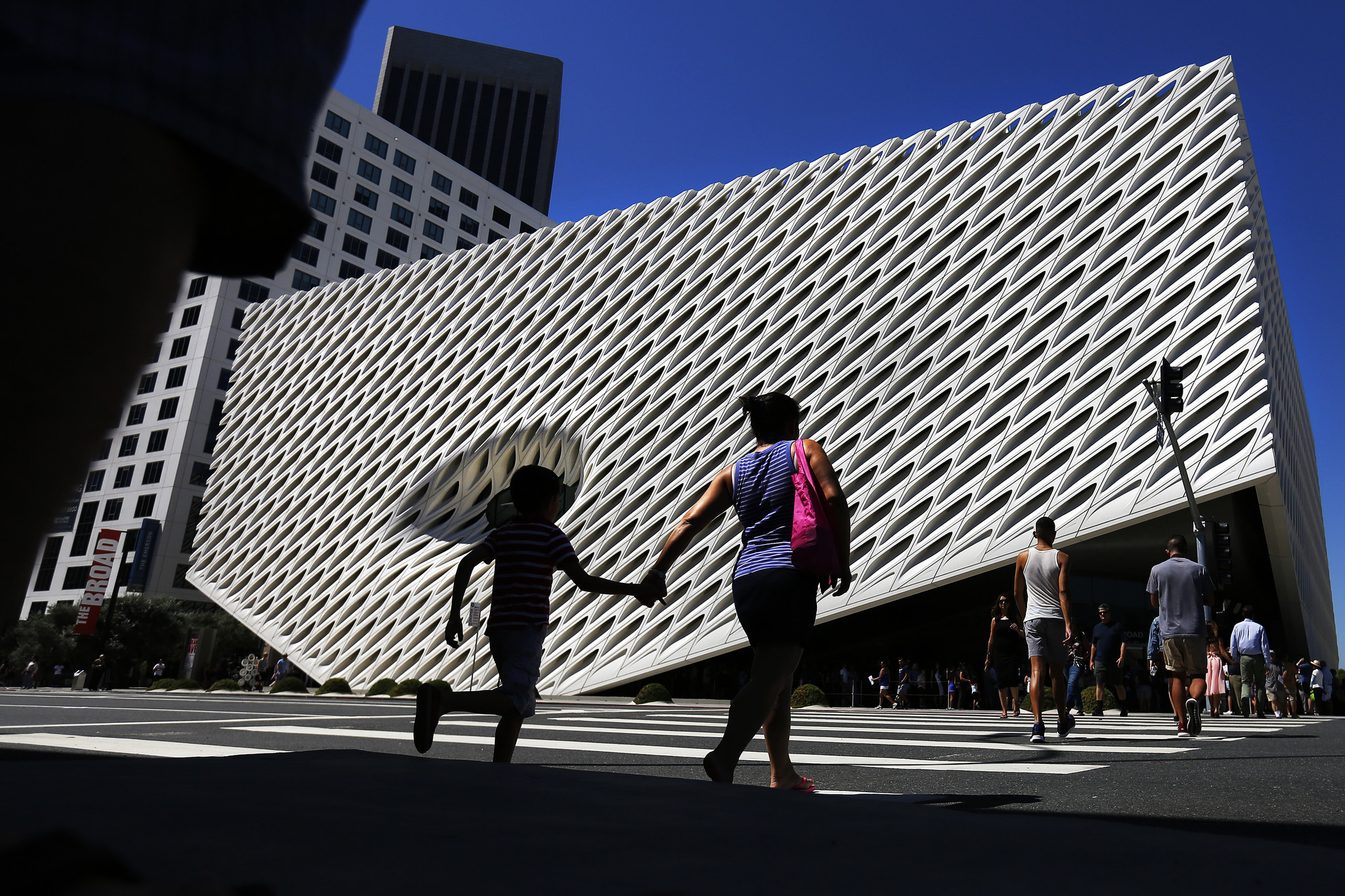 LOS ANGELES, CA. — SUNDAY, SEPTEMBER 20, 2015 — The Broad, Los Angeles' new contemporary art muse