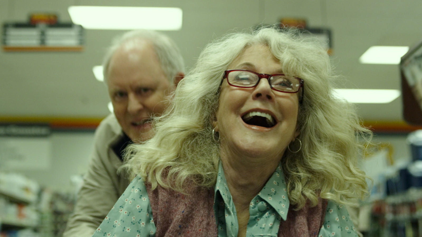 Review: Blythe Danner and John Lithgow make an offbeat pair in 'The Tomorrow Man'
