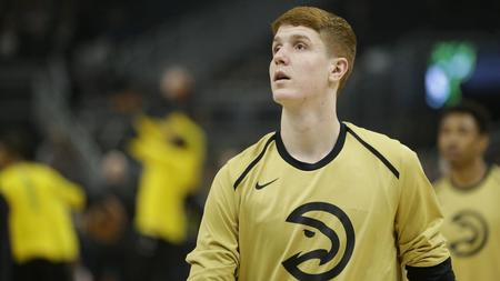 54638a5943f Luka Doncic. Former Maryland star Kevin Huerter selected to NBA s  All-Rookie second team