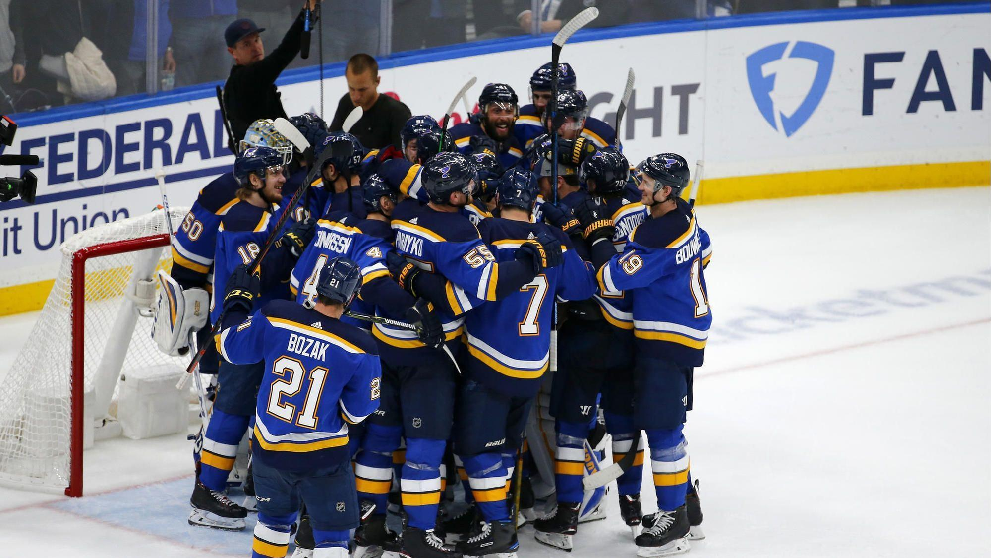 Blues beat Sharks 5-1 to reach Stanley Cup Final