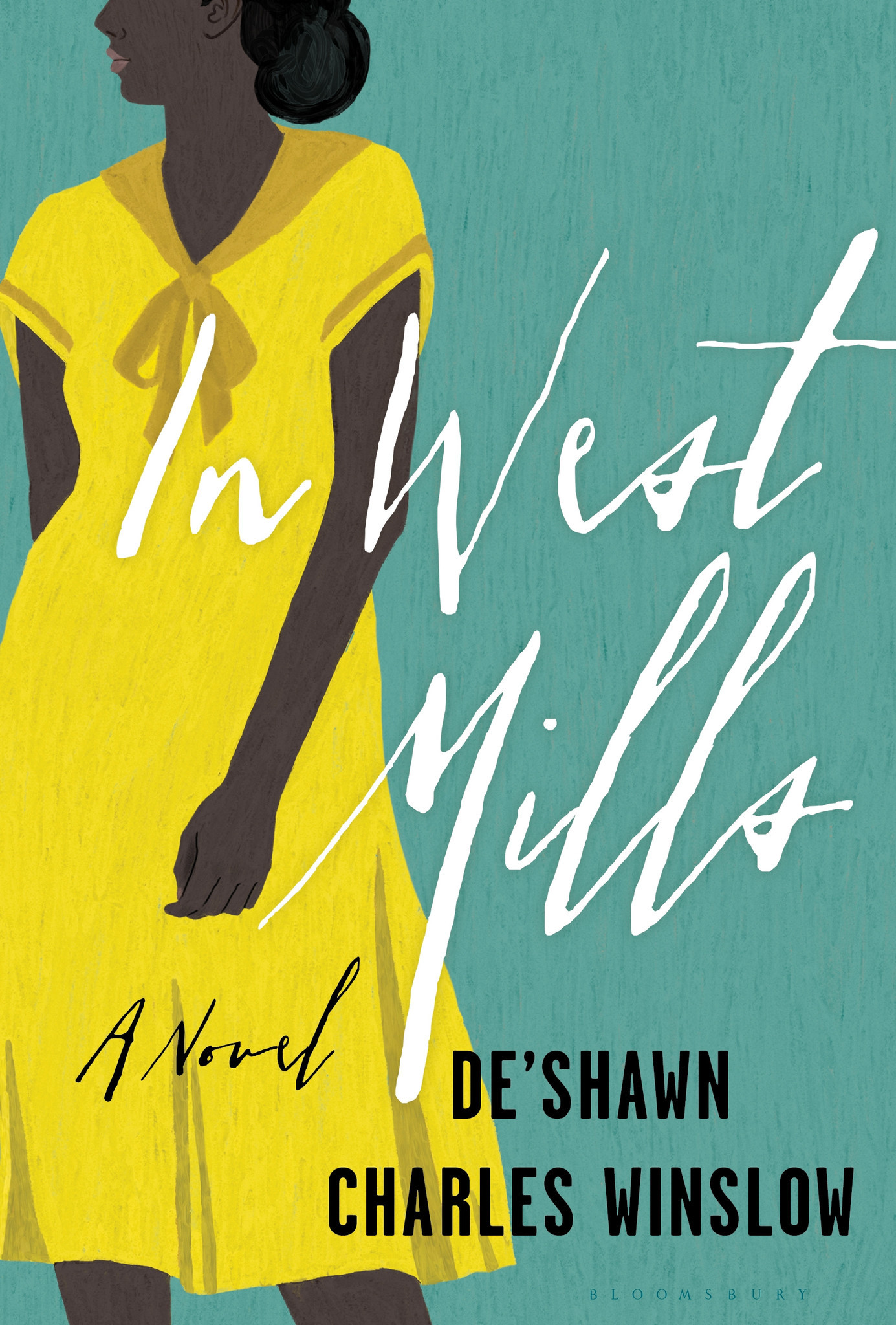 """A book jacket for De'Shawn Charles Wislow's """"In West Mills."""""""