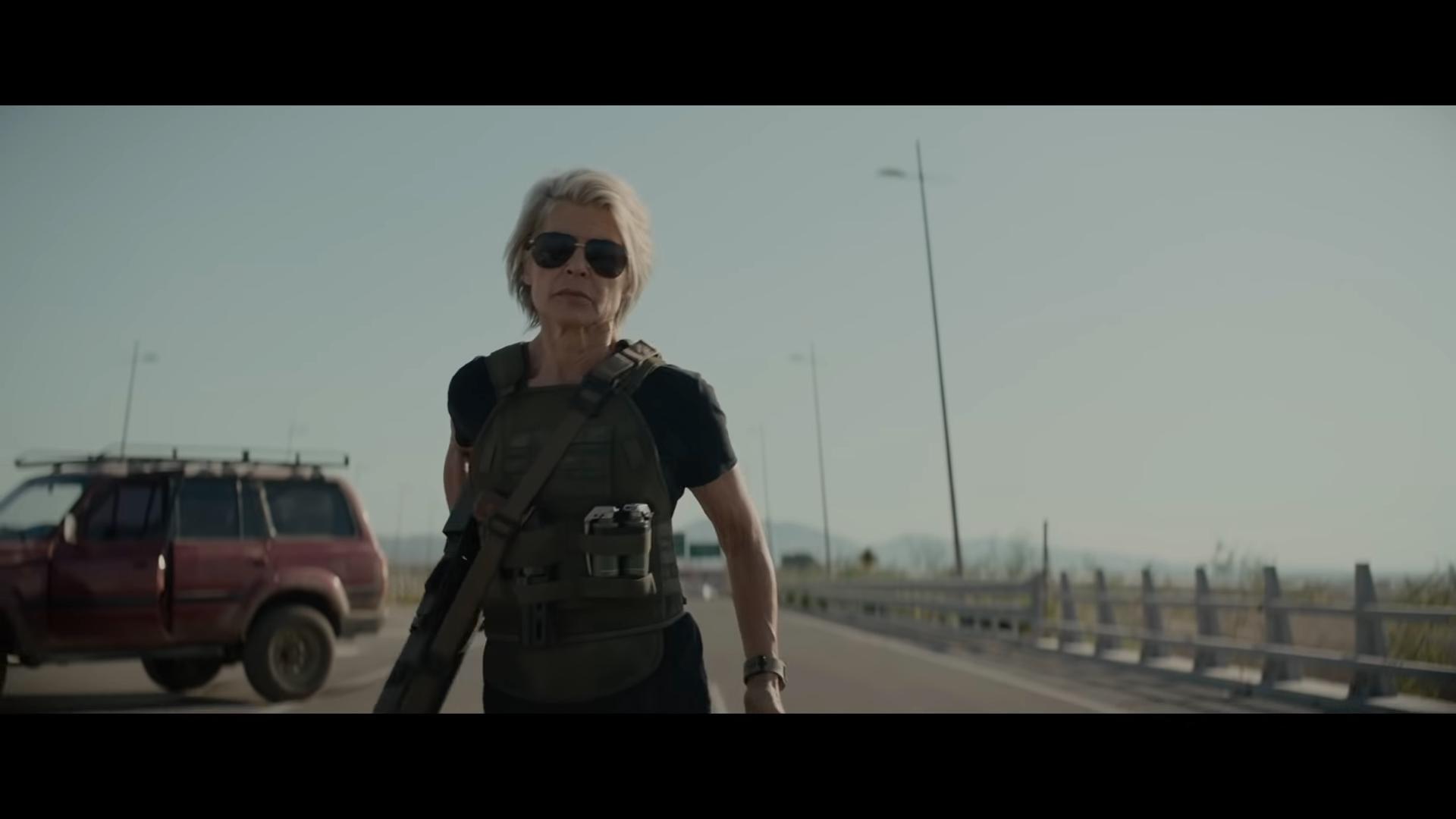 'Terminator: Dark Fate': Linda Hamilton, Arnold Schwarzenegger return in first trailer