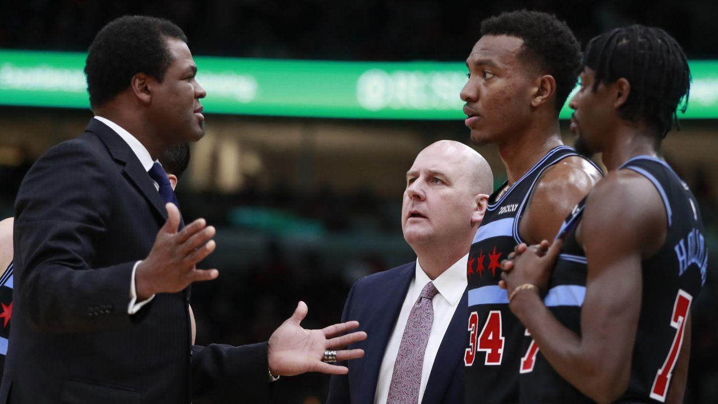Bulls are searching for a new assistant coach after Pete Myers resigns, citing personal reasons