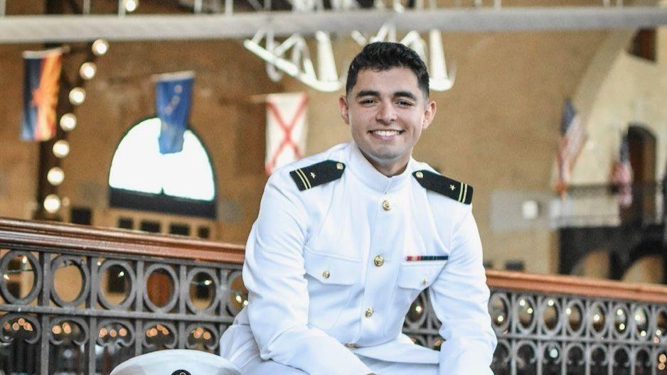 Ariana Perez: Naval Academy grad says hard work and ambition have always helped him succeed