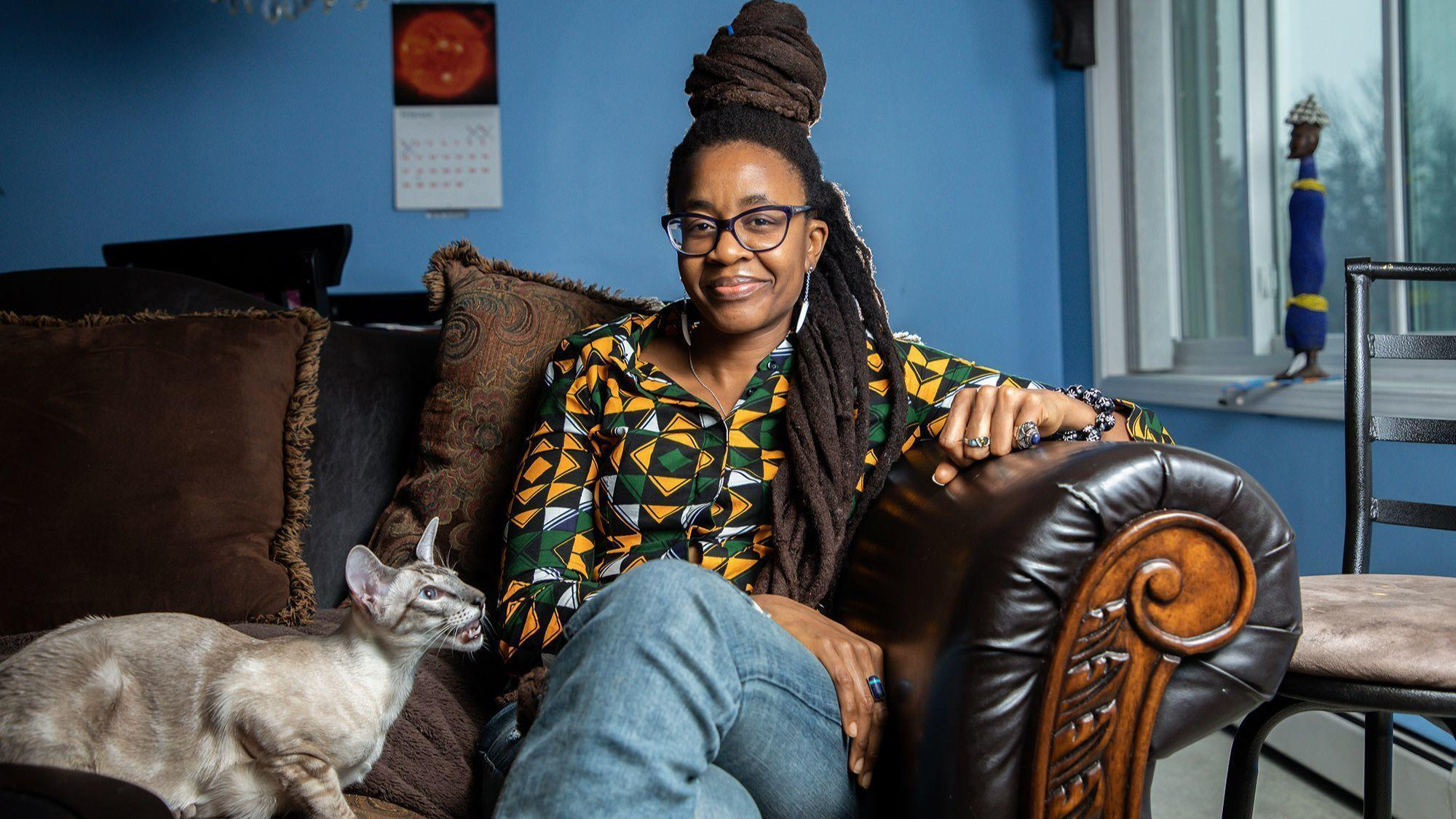 How Nnedi Okorafor is building the future of sci-fi from Flossmoor. (Being George R.R. Martin's protege doesn't hurt.)