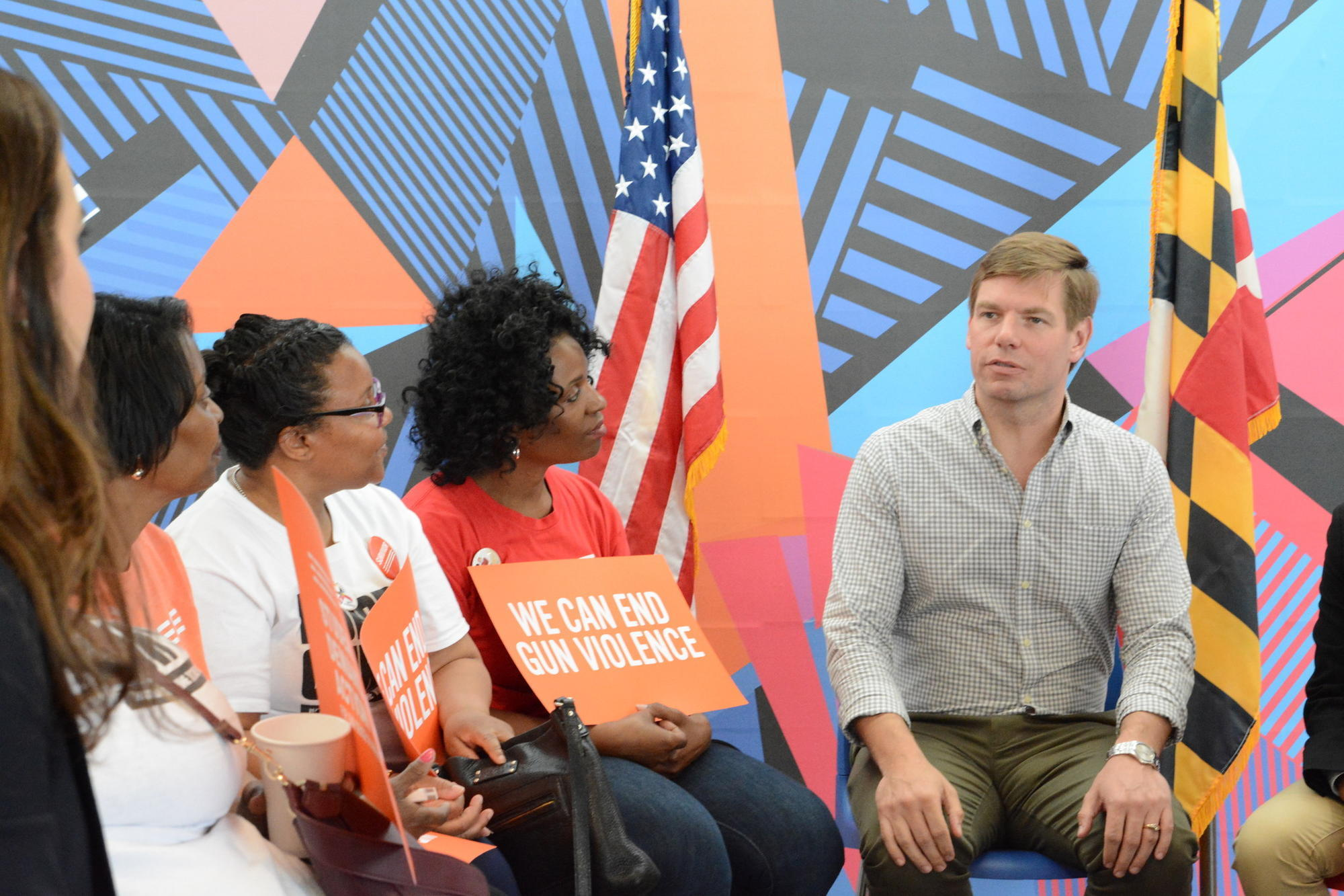 baltimoresun.com - Hallie Miller - Democratic presidential candidate Rep. Eric Swalwell visits Baltimore to highlight campaign's focus on gun violence