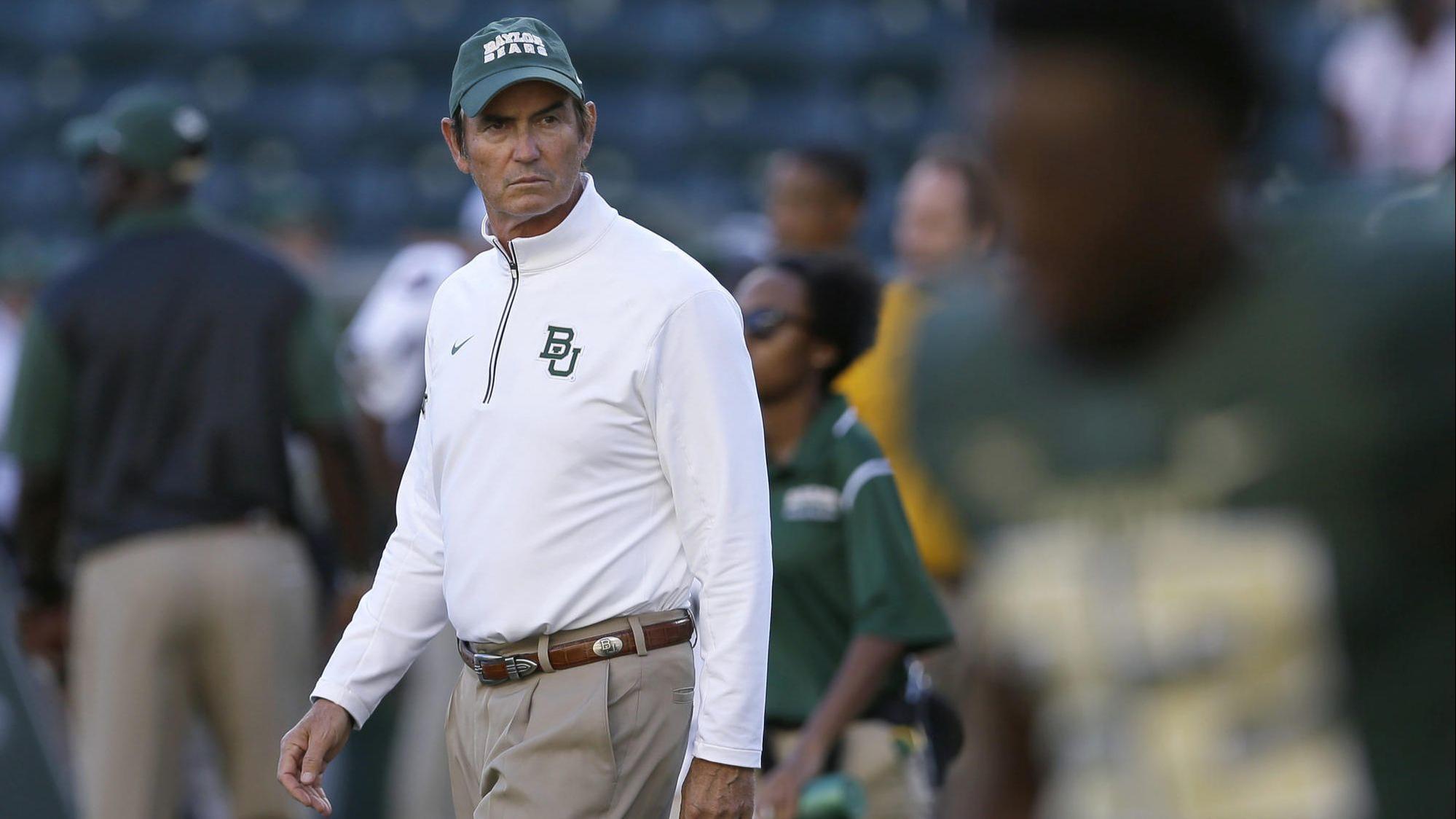 Texas high school hires former Baylor football coach Art Briles