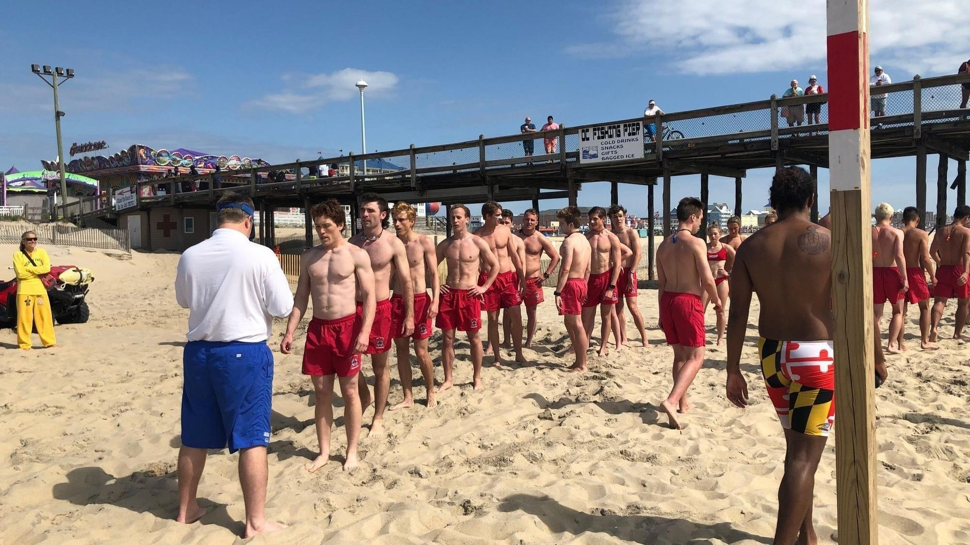 baltimoresun.com - Kevin Rector - In Ocean City, another lifeguard season begins - two minutes early