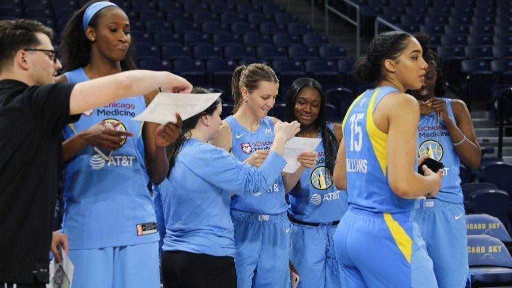 Sky stumble in season opener as rookie Napheesa Collier leads the new-look Lynx to an 89-71 victory