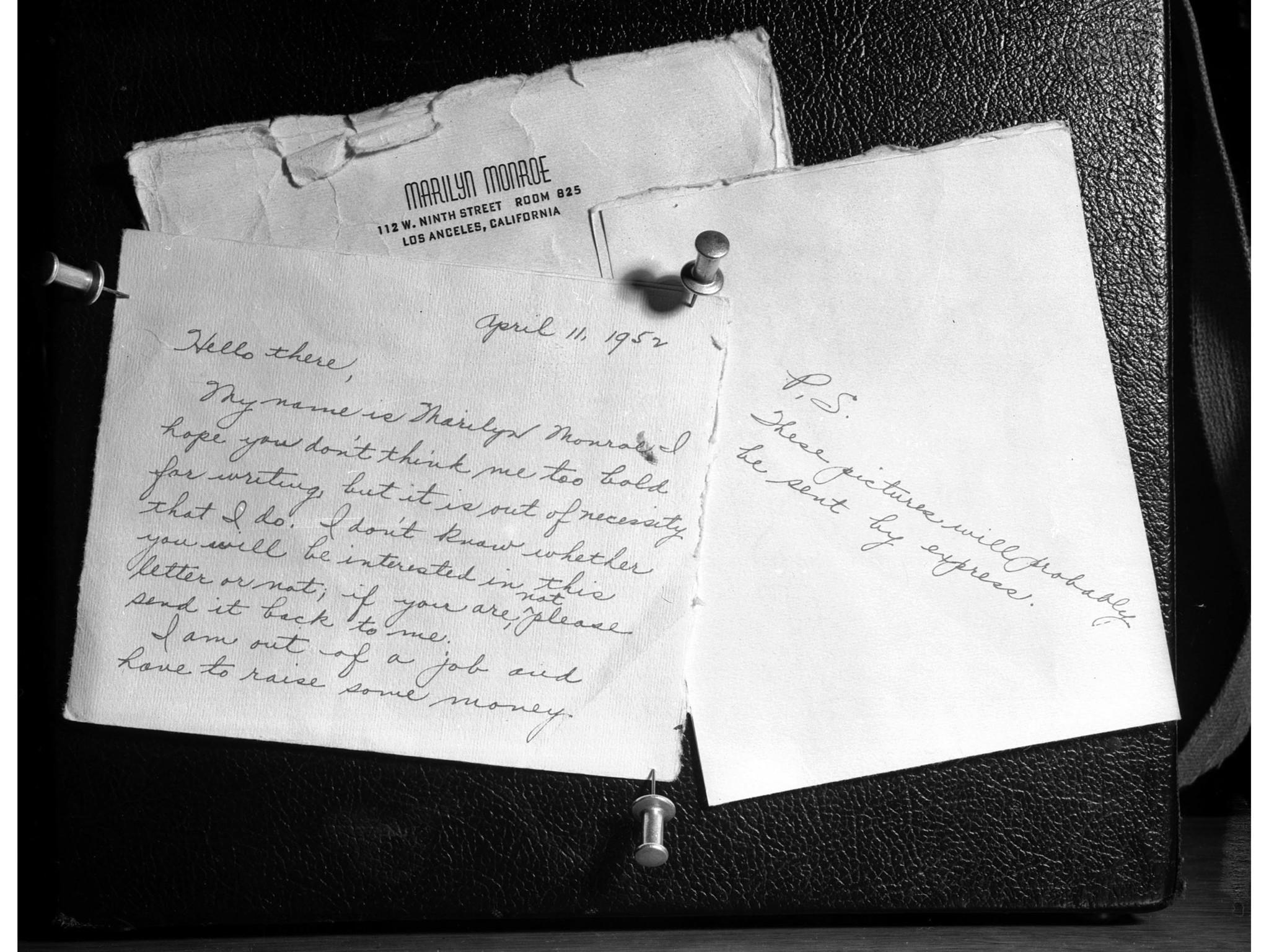 June 26, 1952: Letter entered into evidence during trial against Jerry Karpman and Morrie Kaplan who