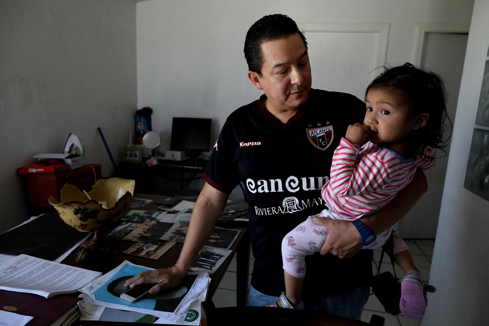 TIJUANA, BAJA CALIF. -- FRIDAY, MAY 17, 2019: Jose Luis Hernandez Galvez, 46, municipal police offic