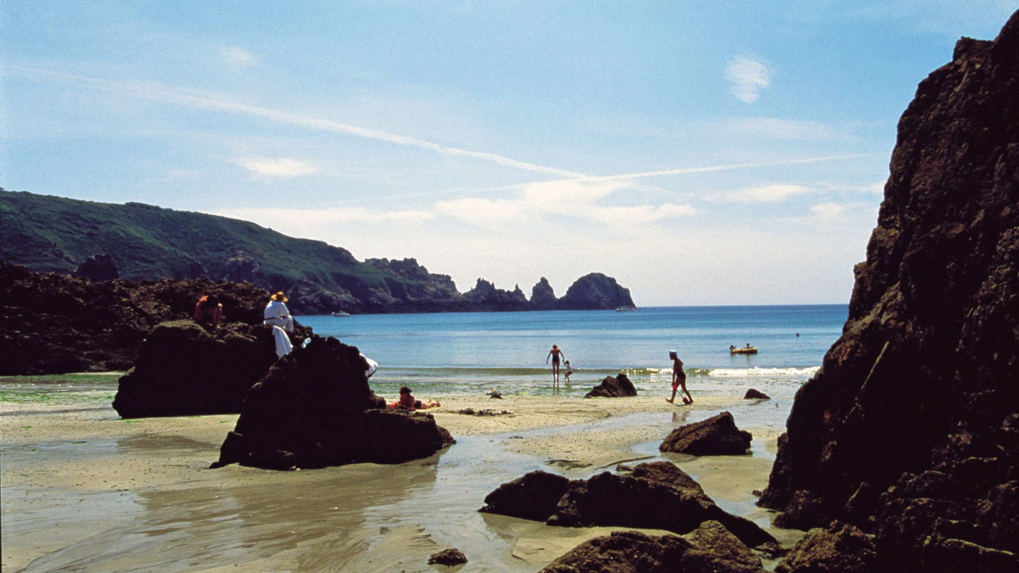 ST. PETER PORT, GUERNSEY - Moulin Huet Bay Guernsey. Image courtesy of VisitGuernsey.