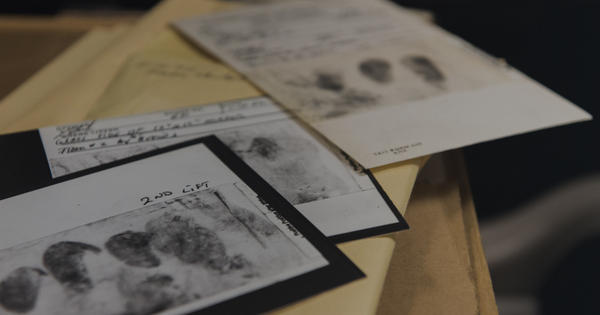 Photos of finger prints