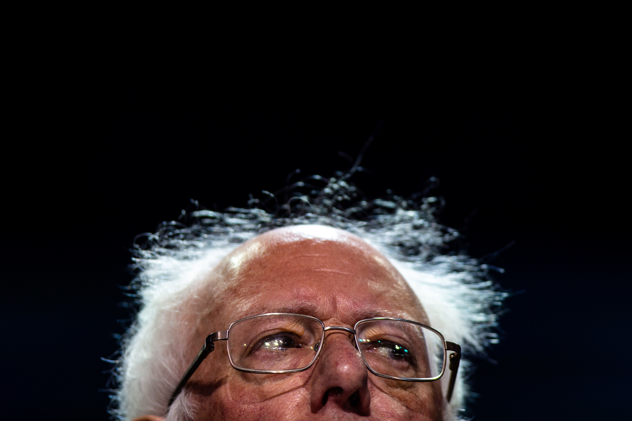 SAN FRANCISCO, CALIF. - JUNE 02: Sen. Bernie Sanders addresses the 2019 California State Democratic