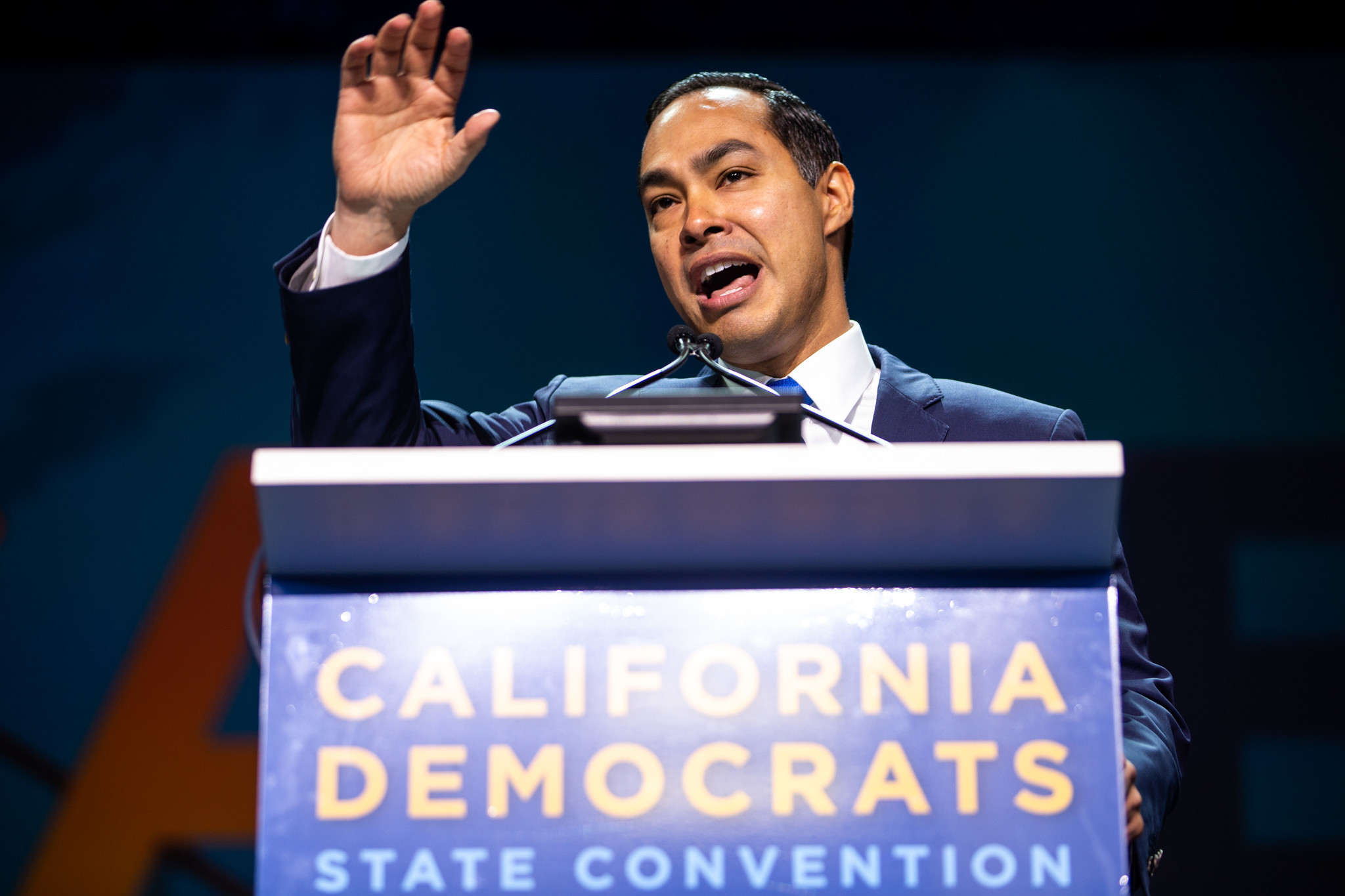 SAN FRANCISCO, CALIF. - JUNE 02: on final day of the 2019 California State Democratic Party Conventi