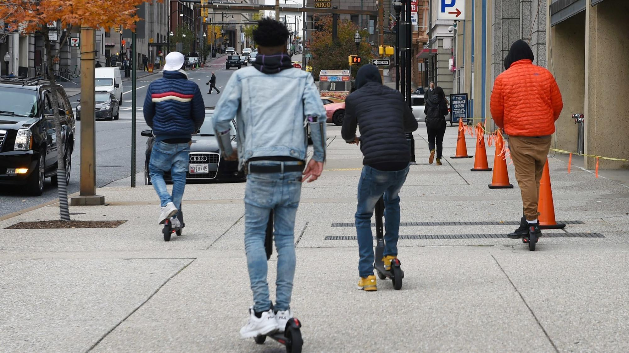 Proposed Scooter Rules Would Restrict Speeds Along