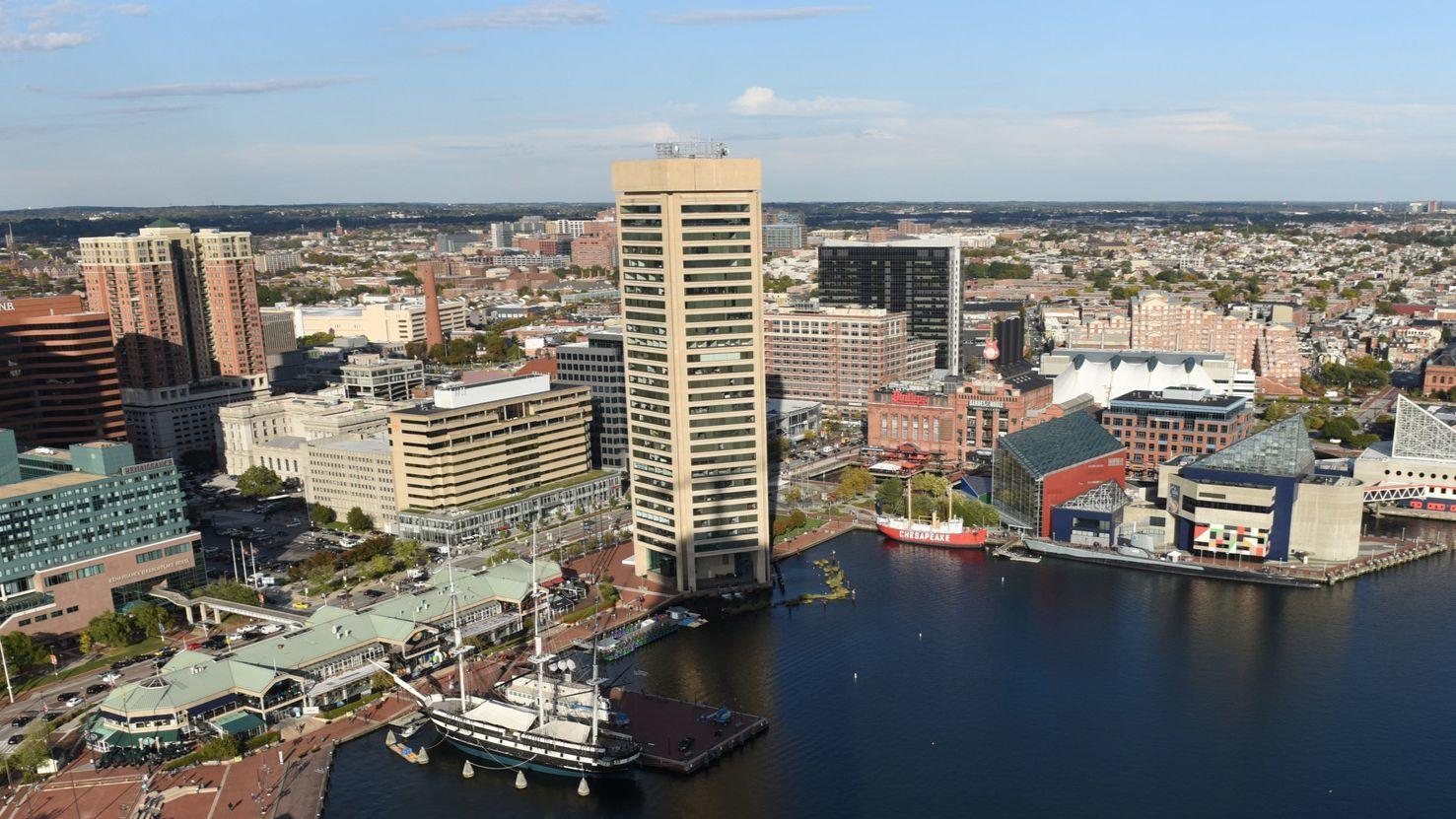 What has five sides and one new name? Baltimore's World Trade Center gets rebranded
