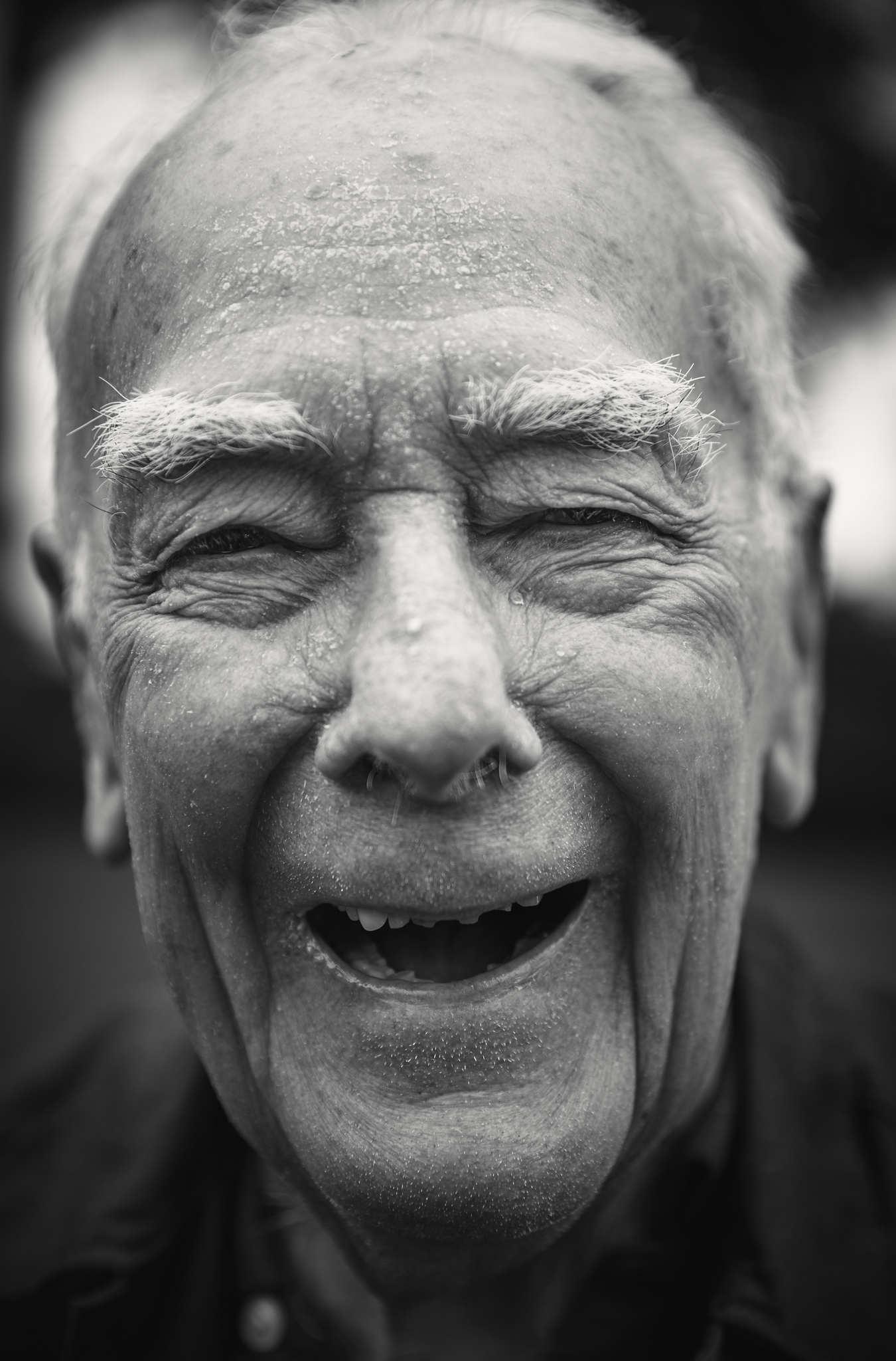 D-DAY VETERANS, FRANCE - JUNE 5: Harold Himmelsbach (94 yrs old), 9th USAAF, 123rd Quartermaster Tru