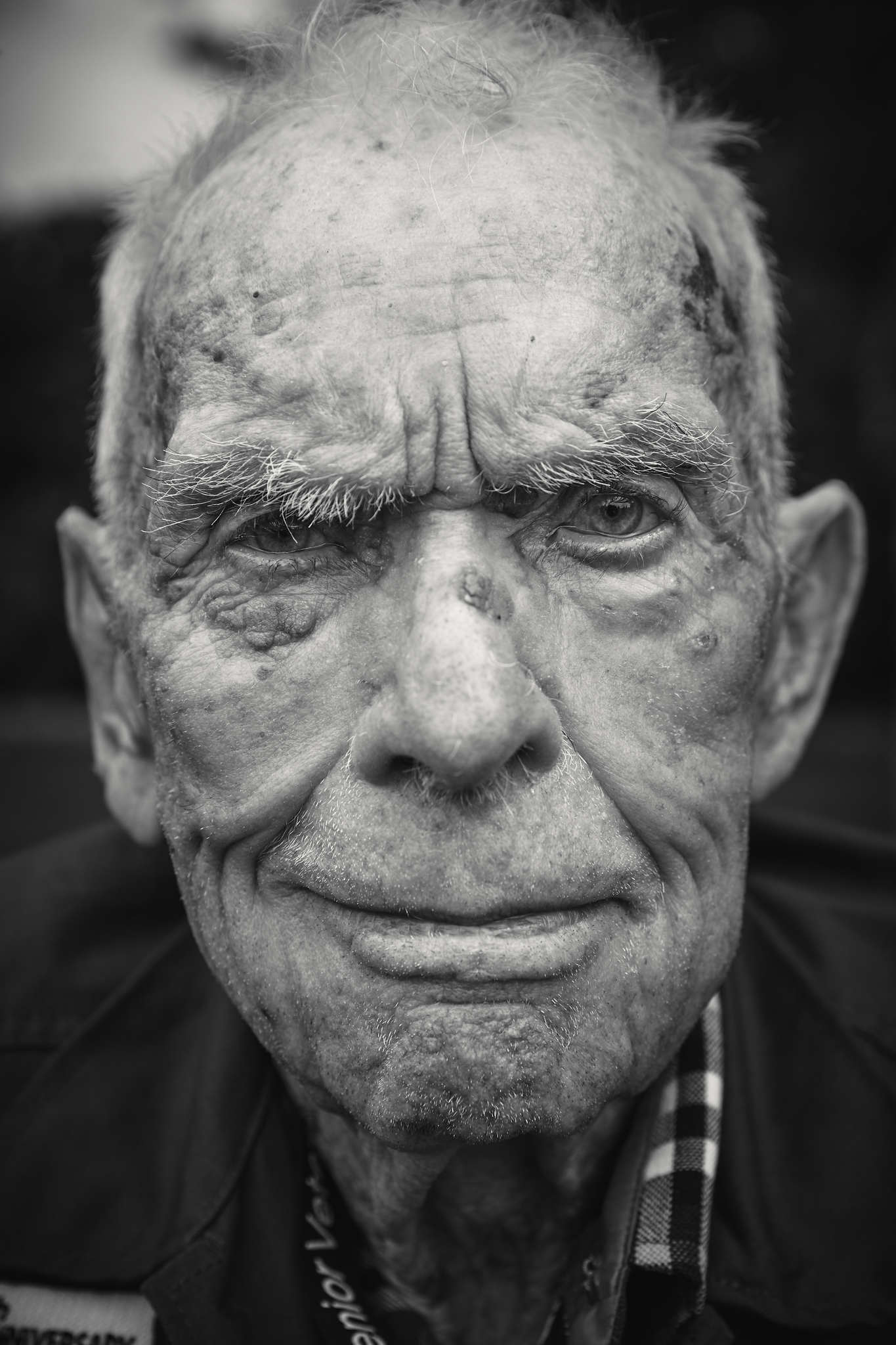 D-DAY VETERANS, FRANCE - JUNE 5: Loren Kissick (94 yrs old), from Washington State, U.S. Army, 83rd