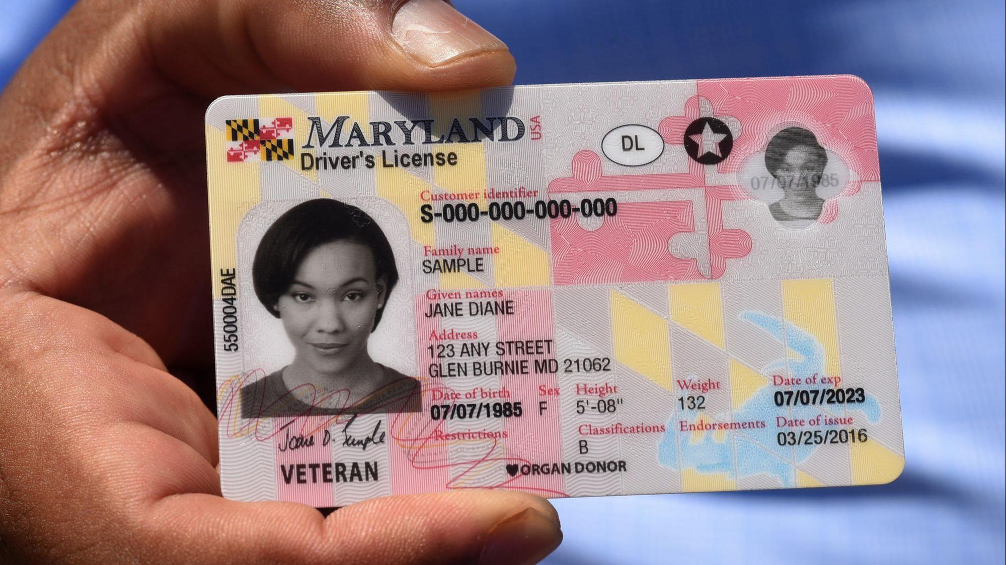 Maryland residents facing June deadline to update driver's license now have a little more time