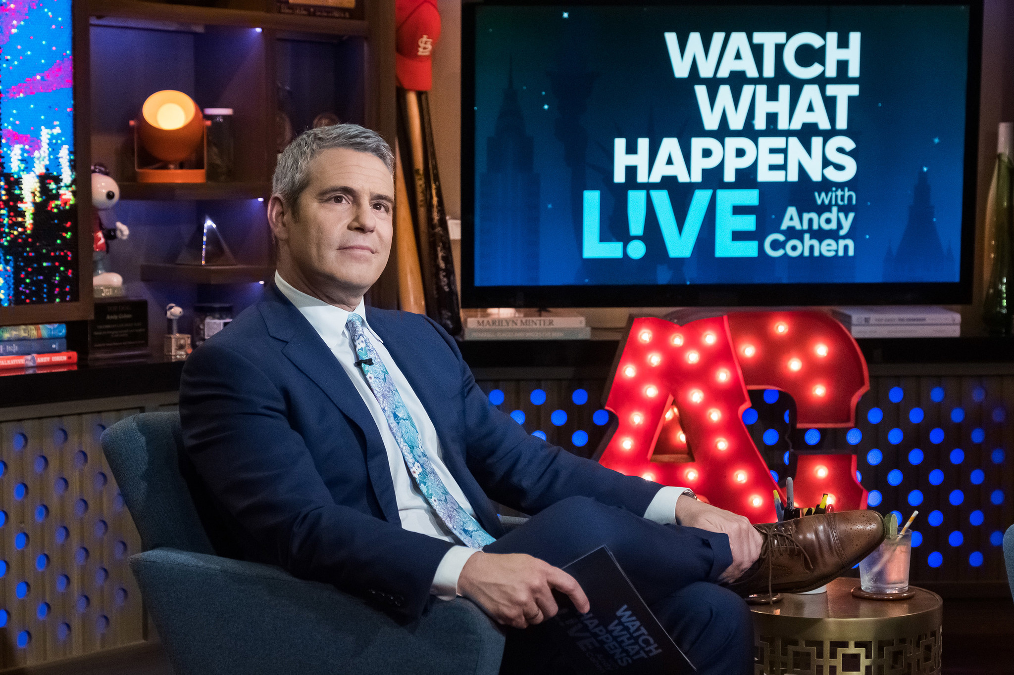 Andy Cohen's late-night talk show 'Watch What Happens Live' renewed through 2021