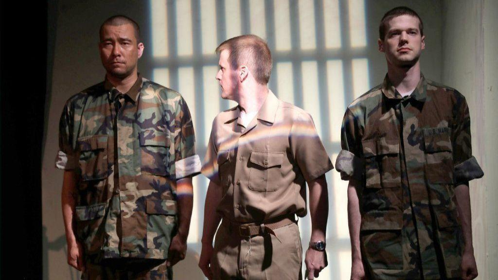 Spotlight: Pasadena actor recreates military trial in stage production of 'A Few Good Men'
