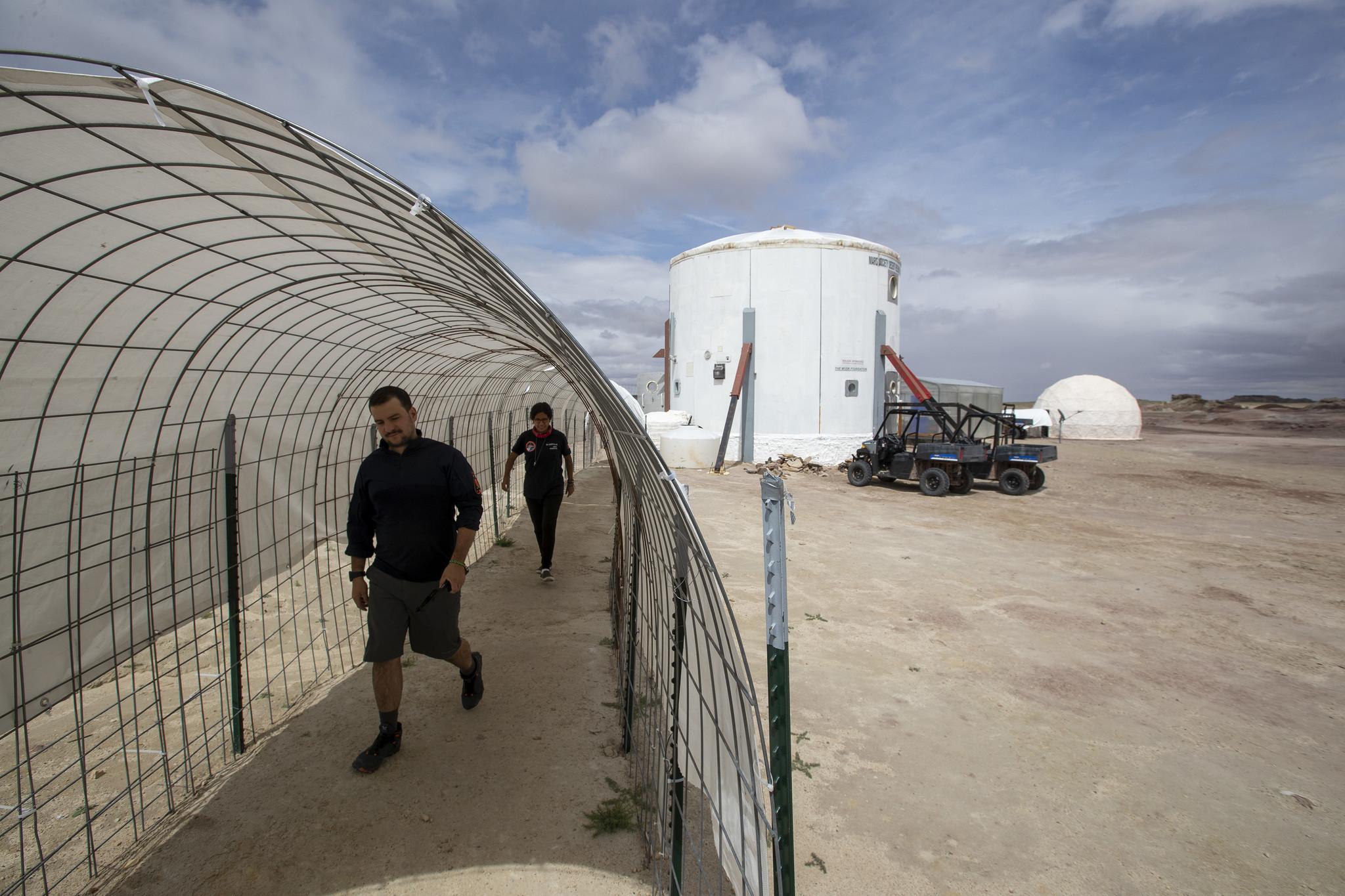 Life on Mars gets a test run in the Utah desert - Los