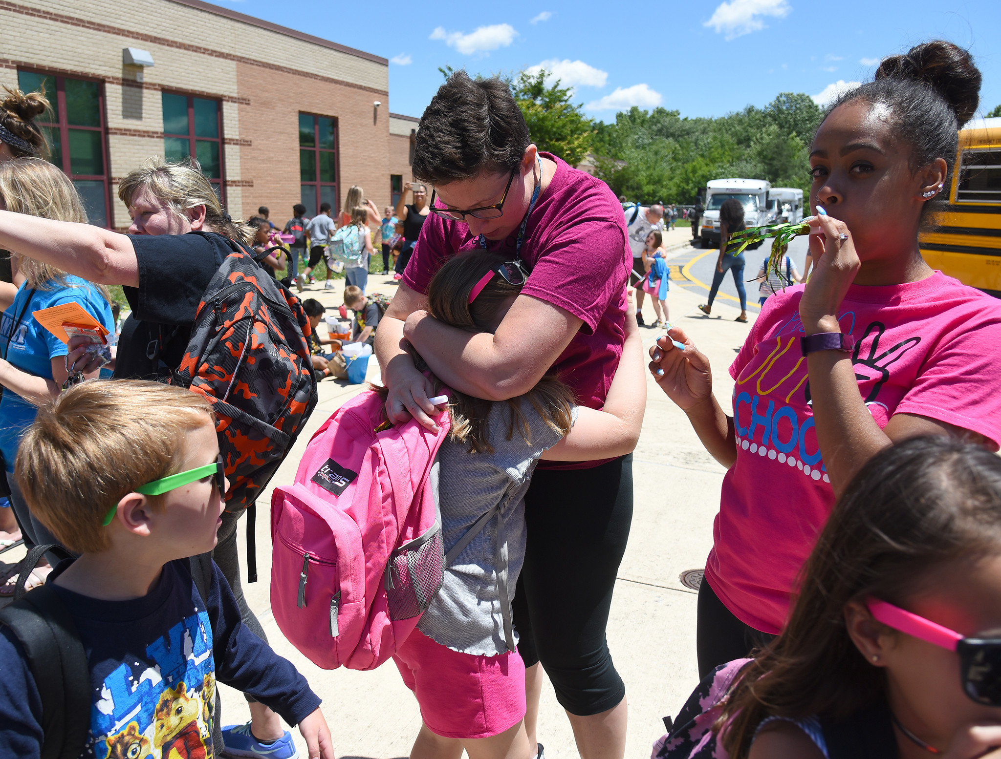 Last day of school at Nantucket Elementary