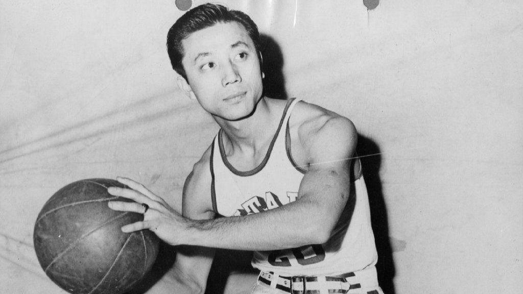 Months after Jackie Robinson joined MLB's Dodgers, Asian American player Wataru Misaka broke pro basketball's color barrier with the Knicks