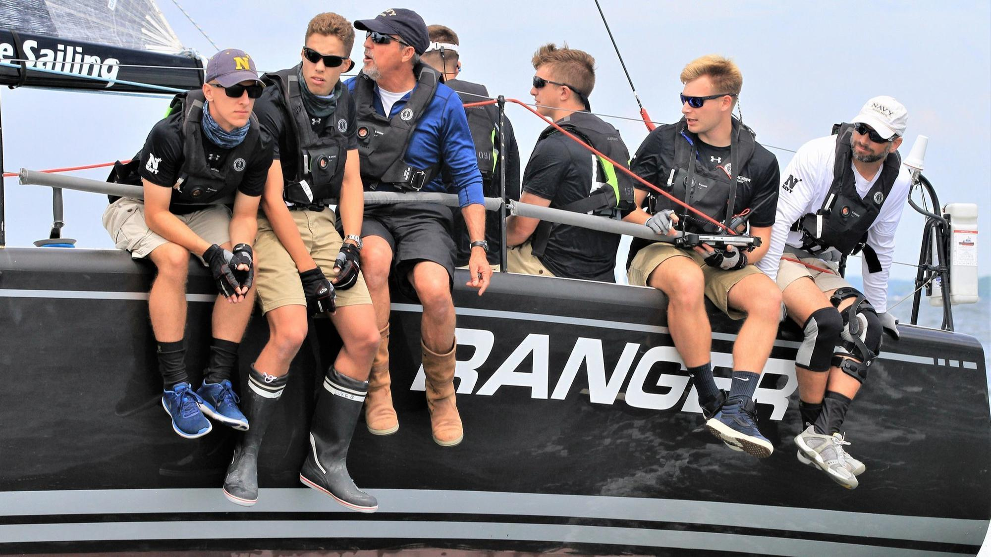 Navy offshore sailing team cleans up at Annapolis-Newport prize-giving