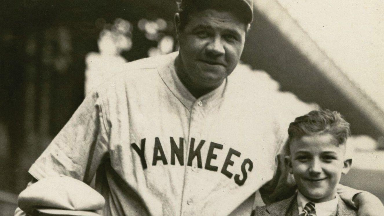 d3a58e839fb Babe Ruth jersey breaks world record, selling for $5.6 million in auction -  Baltimore Sun