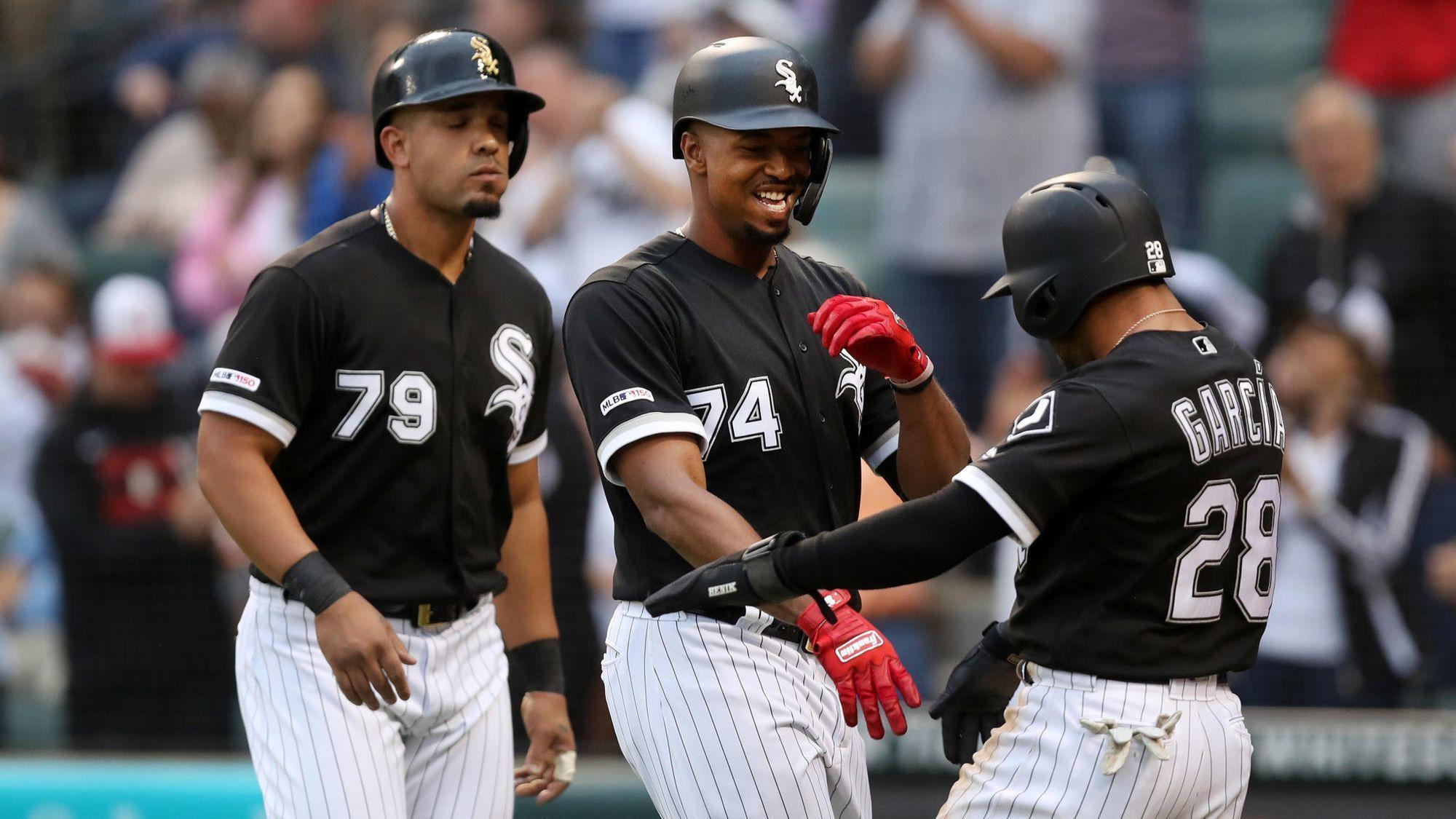 'I feel really good': Eloy Jimenez is starting to show his power for the White Sox