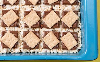 Campfire Marshmallow Bars