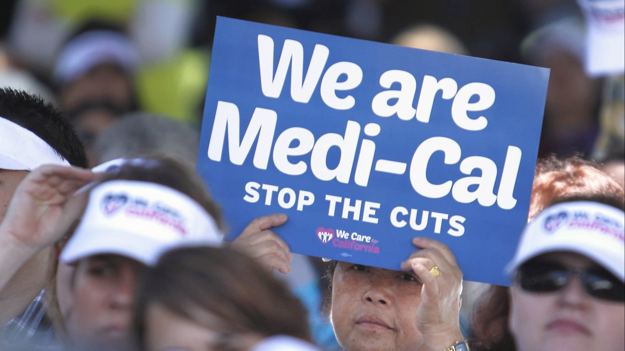 Protesters rally against cuts to Medi-Cal