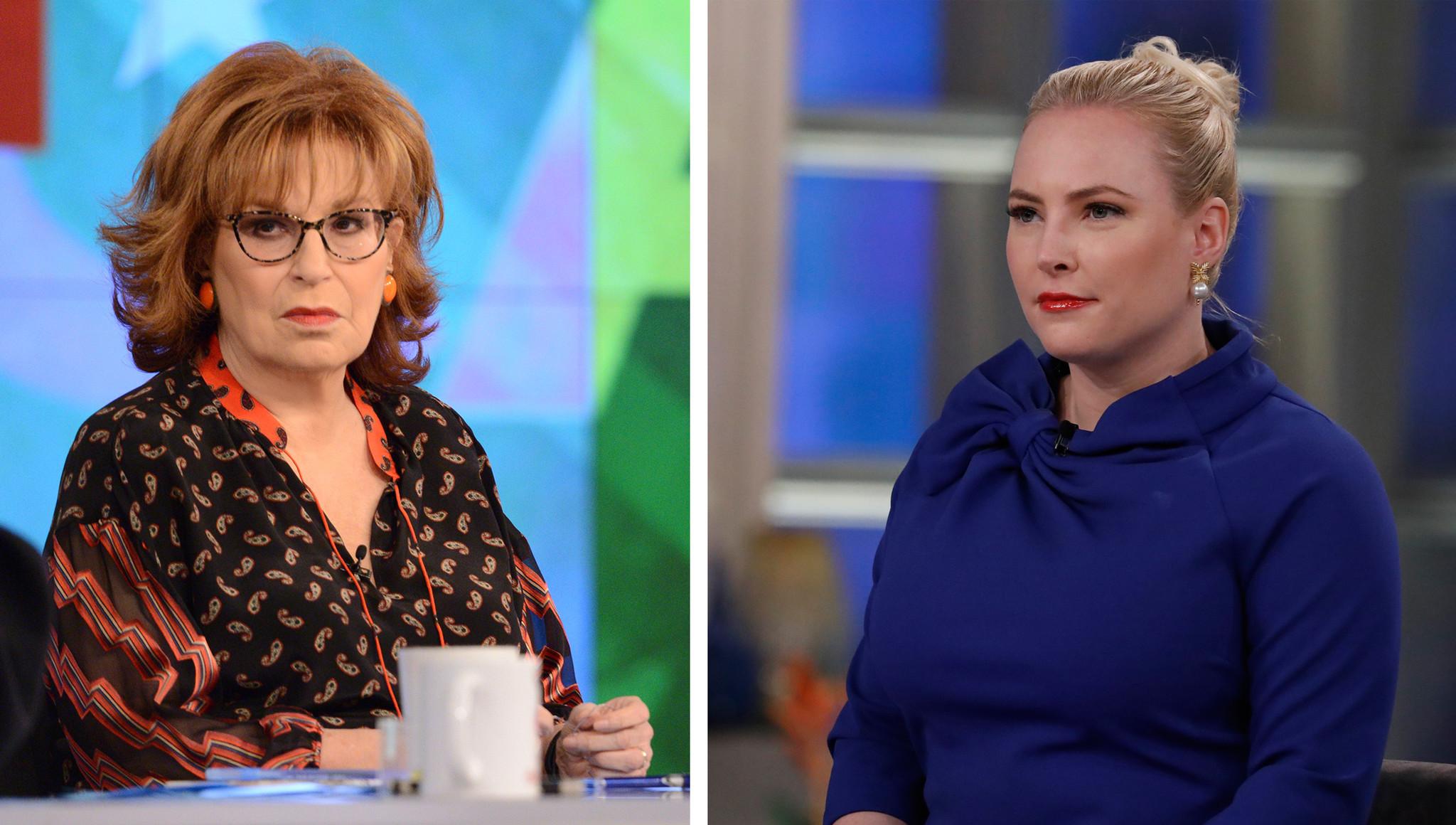 SEE IT: 'View' host Joy Behar shuts down Meghan McCain with MAGA burn