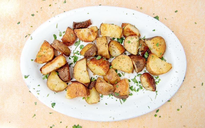 Super-Crisp Roasted Potatoes