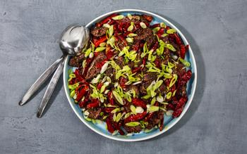 Sichuan Chile Hanger Steak